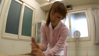 Needy Oriental Nurse Removes Undies For Lewd Patient