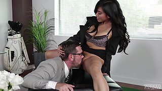 fucking her in the office @ an inconvenient mistress