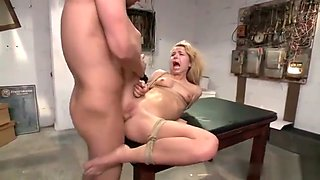 EXTREME Filling her tight wet pussy with fat cock HD