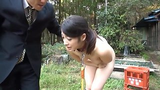 Japanese milf anal slave