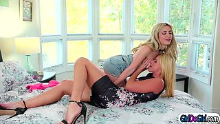 MT1 Chloes gf helps making her stepmom cheat by seducing her