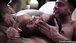 Gia paige forced into sex with two bros