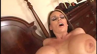 Busty babe showing big Tits and gets Fucked