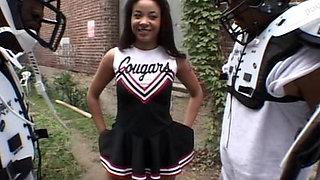 Black Cheerleader Gangbang 1 Cd1