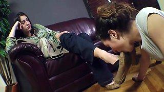 Lesbian Foot Slave 1