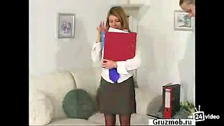 fucked secretary in pantyhose