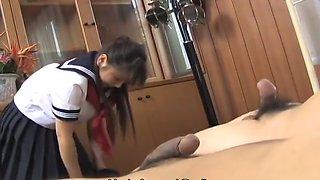 Momo Aizawa The School Girl And Two Teachers