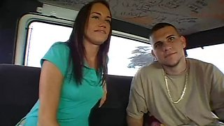 Sexy Teen With An Amazing Ass Is Fucked Inside The Bang Bus