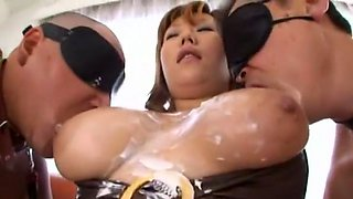 Fabulous Japanese model Milk Matsuzaka in Crazy Solo Girl, Blowjob JAV scene