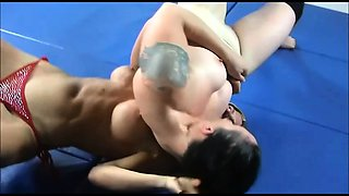 Intense wrestling and hardcore sex in Academy Wrestling