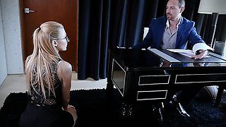 Submissived - Shy Secretary Pussy Destroyed By Boss