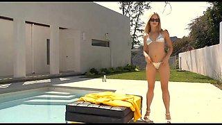 Blonde in Bikini