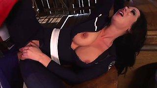 Porn Captain American fucks a busty babe