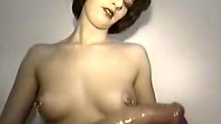 Incredible Homemade clip with Brunette, Cumshot scenes