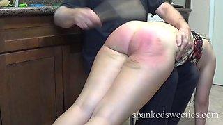 Dria&#39s post party kitchen spanking