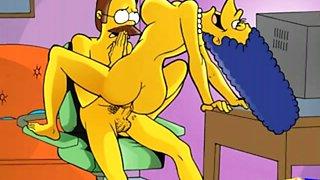 Simpsons flinstones american dad