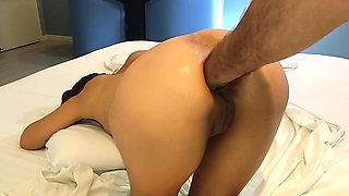 Extreme anal fisting and insertions amateur