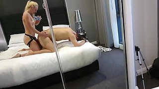 Pegging bf in hotel