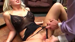Naughty chicks get their assholes worshipped by their lovers