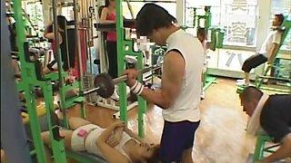 No Bra at Gym 2