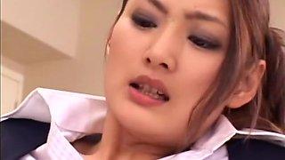 Natsumi Horiguchi, Risa Murakami in Inkeiju Mischief 7 part 3