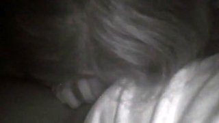 Hidden night cam car blowjob with cum in mouth-part 2
