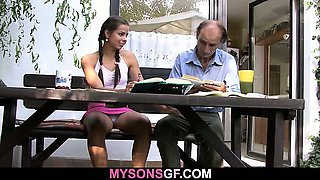 Dad got lucky with son\'s girl