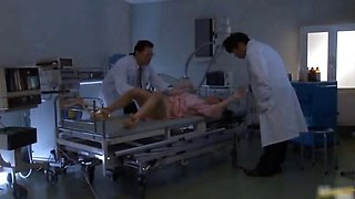Asian nurse has sex in the hospital part3
