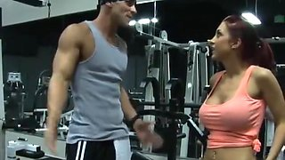Kylee Strut fucked hard in gym SO HOT
