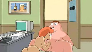 Lois Gives Peter A Blowjob At Work