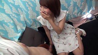 Amazing Japanese girl in Hot Korean, Cumshots JAV movie unique