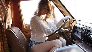 American babe Ashley Lane