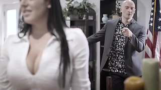 Pure Taboo - Angela White got black mailed and fucked hard