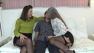 Milf Teachers Seduce New Student TRAILER
