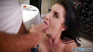 Hung Chad White pounds Silvia Saige tight wet pussy