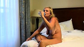 Threesome with mature German amateur swingers