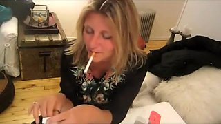 Best homemade Smoking, Fetish sex clip