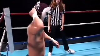 Gwen Summers having sex with a midget wrestler