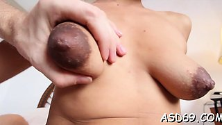 Fabulous asian hotty goes hardcore with her paramour