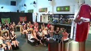 CFNM strippers jizz loads ladies party