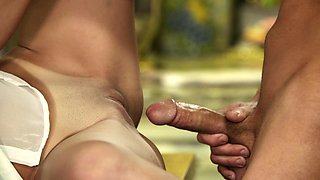 Dillion Harper gets her cunt banged hard in reality story in the kitchen