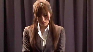 Best Japanese girl Rin Kashiwagi in Hottest Censored, Secretary JAV video