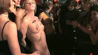 Blonde Gangbanged, Dominated & Humiliated At A Party