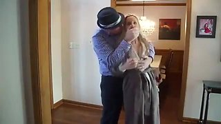 Blonde Girl to fuck fiancees brother