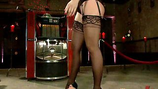 Femdom Humiliating and Fucking a Male Submissive