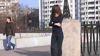 Exotic amateur Funny, Outdoor porn video