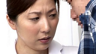 Best Japanese model in Horny Nurse JAV clip