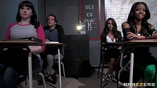 Brazzers Exxtra: The Facts of Fucking. Layla Luxxx, Nikita Von James, Tyler Nixon
