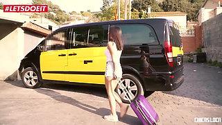LETSDOEIT - Big Tits Slut Teen Fucks Fake Taxi Driver