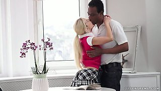 Small titted sweetie Nesty gets drilled well with dude's bbc